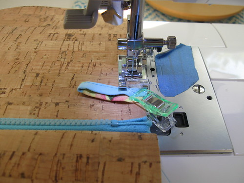 sewing cork