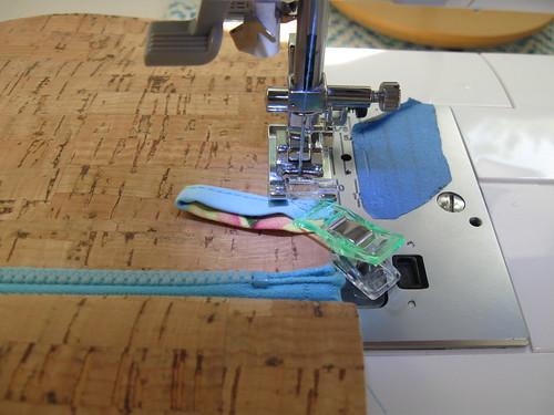 sewing cork