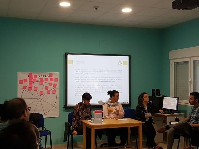 Presentación 'Abono Café' en Extremadura (24 de octubre de 2017)
