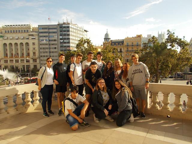 Visita al centro de Valencia - 2017