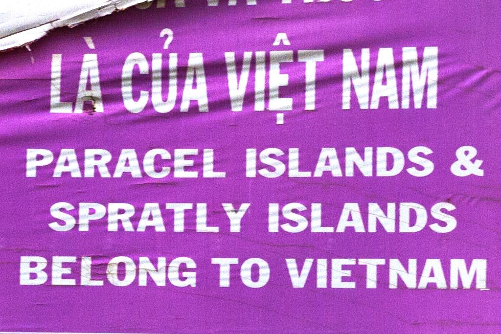 PARACEL ISLANDS AND SPRATLY ISLANDS BELONG TO VIETNAM--Thuan Nam (detail)