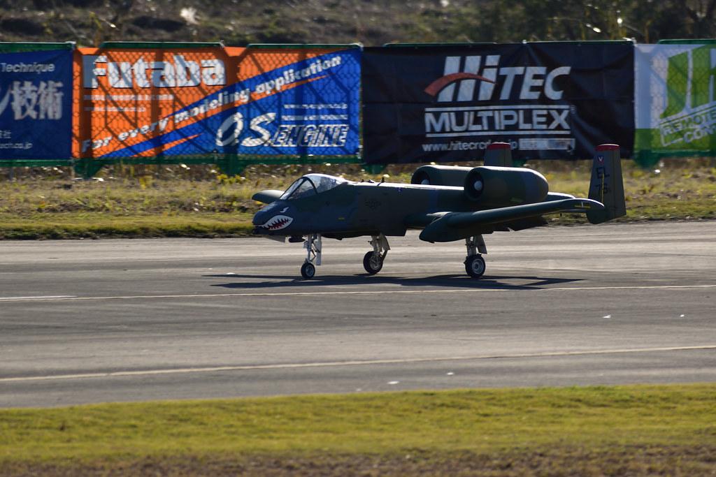 A-10フェアチャイルド着陸