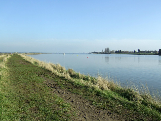 The River Crouch near South Woodham Ferrers