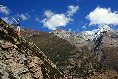 J11 : 1er octobre 2017 : 5ème jour du trek : de Upper Pisang (3330 m) à Braga (3440 m)