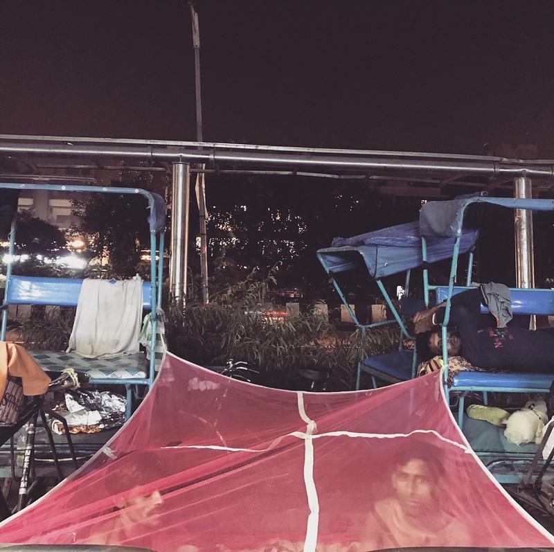 Home Sweet Home - Rickshaw Puller Vishwajeet Mondal's Bedroom, Near Jangpura Metro Station