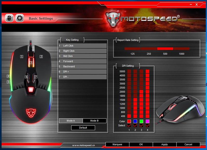 Motospeed V20 レビュー01
