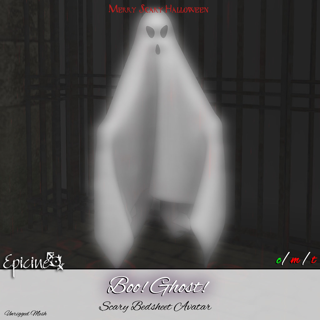 Epicine – Boo! Ghost! – Scary Bedsheet
