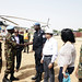 UNAMID Force Commander, Lieutenant-General Leonard Ngondi, visited the Mission's team sites in Nertiti and Mukjar, Central Darfur