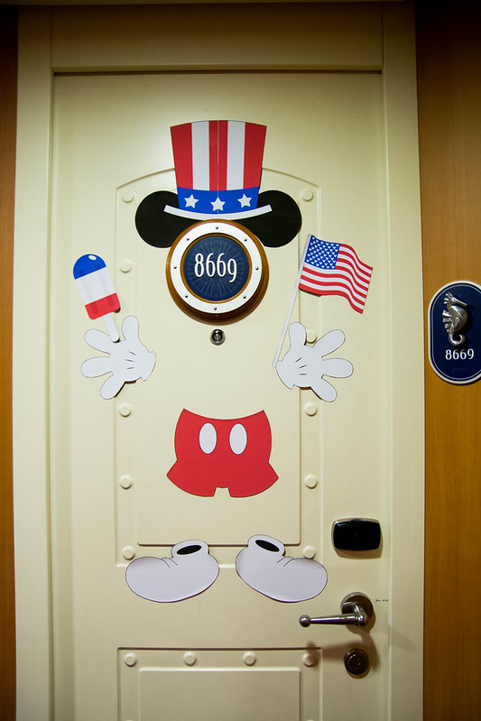 Fourth of July Door Decor