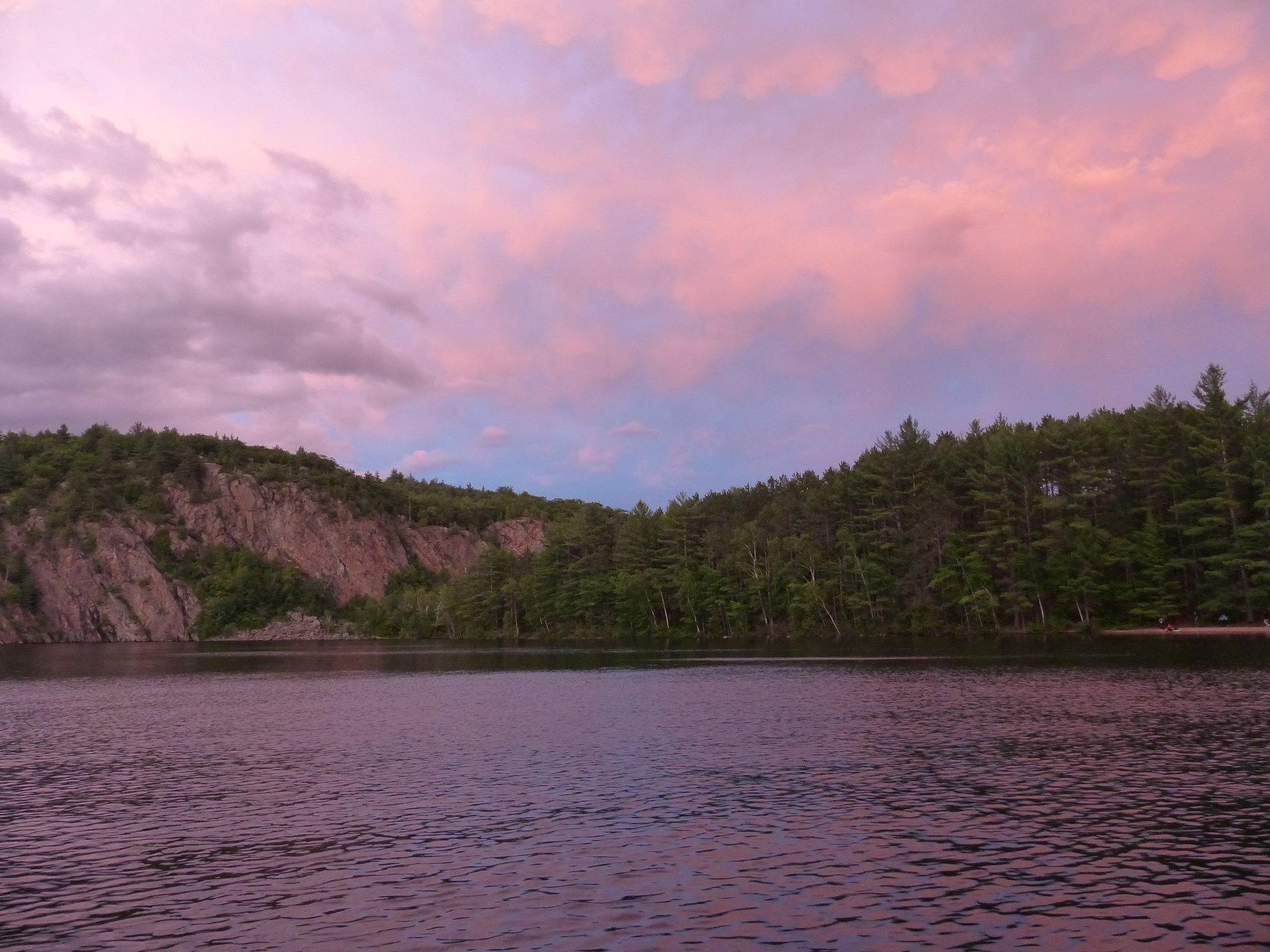 Bon Echo Provincial Park sunset