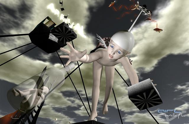 Saskia Boddeke aka Rose Borchovski _The arrival _AIRE Mille Flux