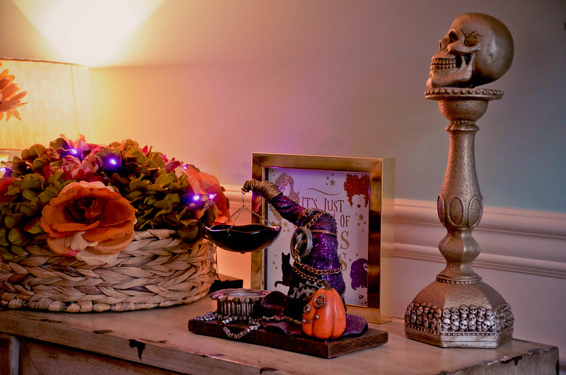 A Witchy Halloween Tea Party
