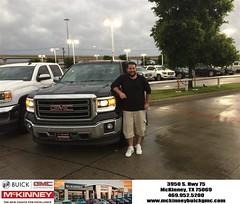 #HappyBirthday to Jason from Joshua Lewis at McKinney Buick GMC!