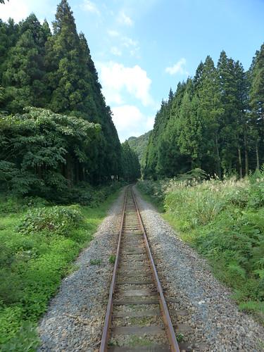 米坂線 yonesakaline 車窓 window 新潟県関川村 sekikawaniigata