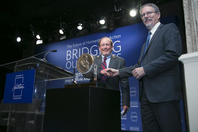 icddr,b wins 2017 Hilton Humanitarian Prize
