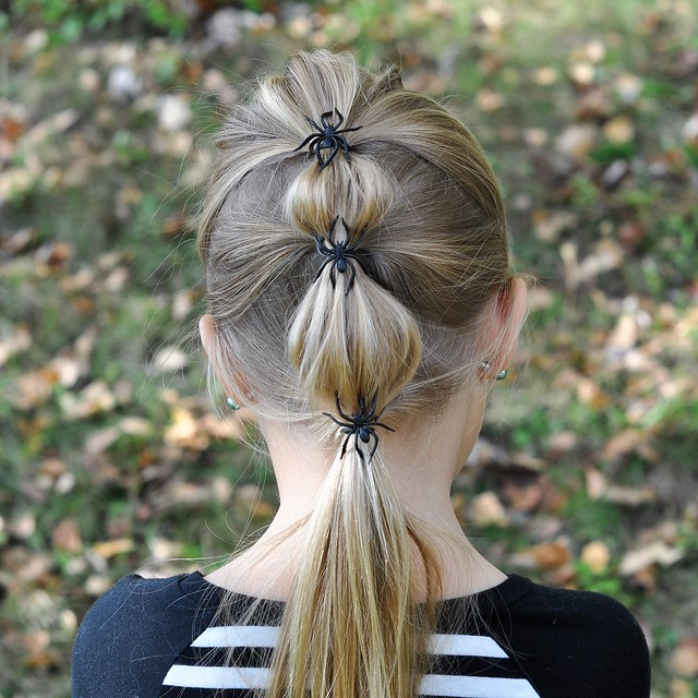 Our Five Ring Circus 6 Adorably Spooky Halloween Hairstyles