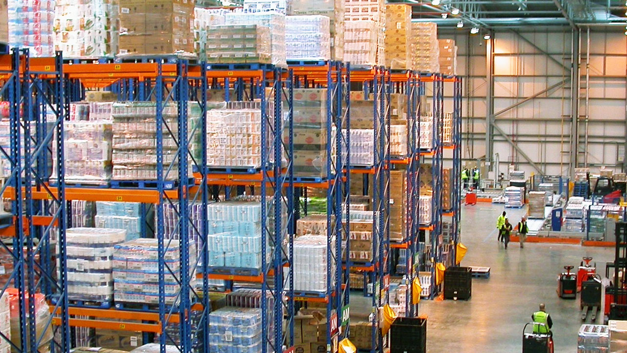 A packing warehouse