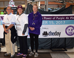 The Safe Futures 40th Anniversary Power of Purple 4K Walk was held at Crystal Mall in Waterford on Sunday, October 15th to commemorate Domestic Violence Awareness Month and raise funds for Safe Futures, a New London based non-profit whose mission is to save lives, restore hope, and change the future for those impacted by domestic violence and sexual assault in southeastern Connecticut.