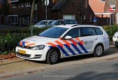 Dutch police Volkswagen Golf