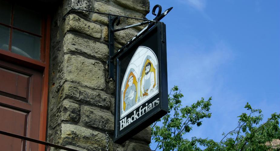 Uit eten in Newcastle: Blackfriars | Mooistestedentrips.nl