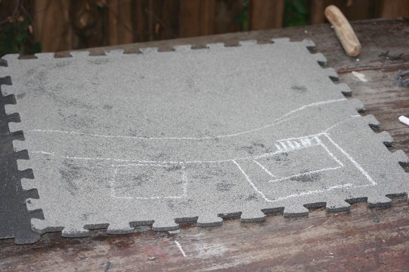 Plateau de jeu à partir de tapis de sol puzzle 37155925434_6ce80ef758_o