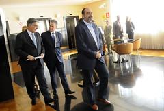 Prefeito Alexandre Kalil durante café da manhã com Governador Fernando Pimentel