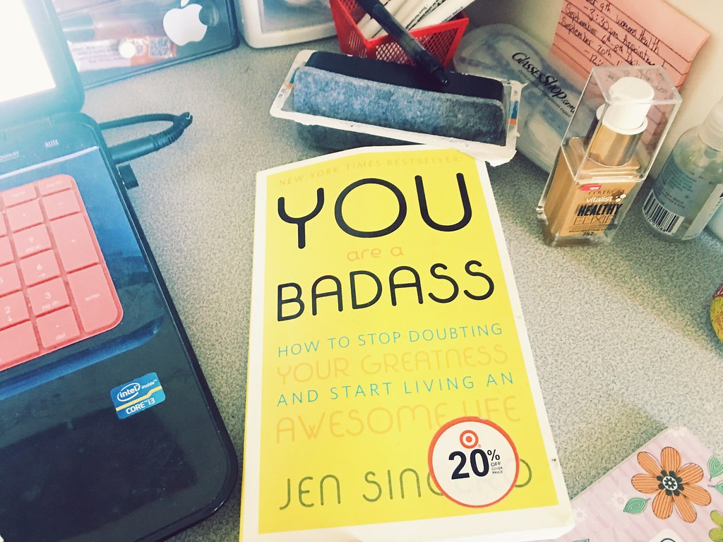 #ReadwithCort: You Are a Badass- How to Stop Doubting Your Greatness and Start Living an Awesome Life Book Review