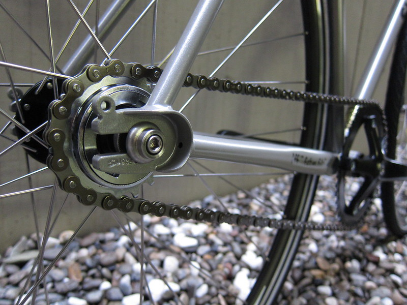 SURLY Steamroller Grey cog