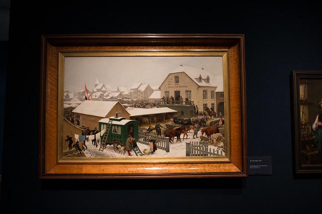 At the Fair, 1882
