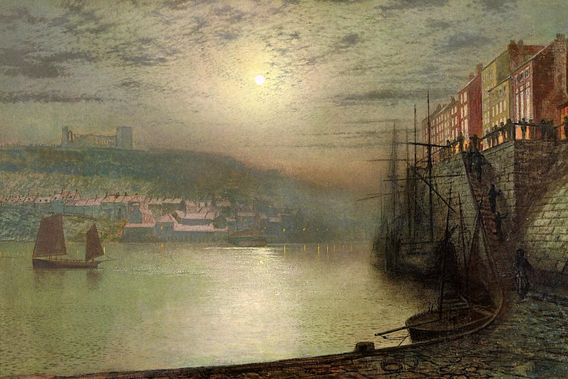 Whitby, from the East Side by John Atkinson Grimshaw, 1877