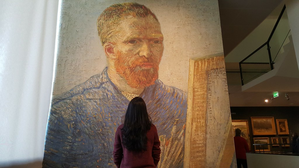 Io al Van Gogh Museum
