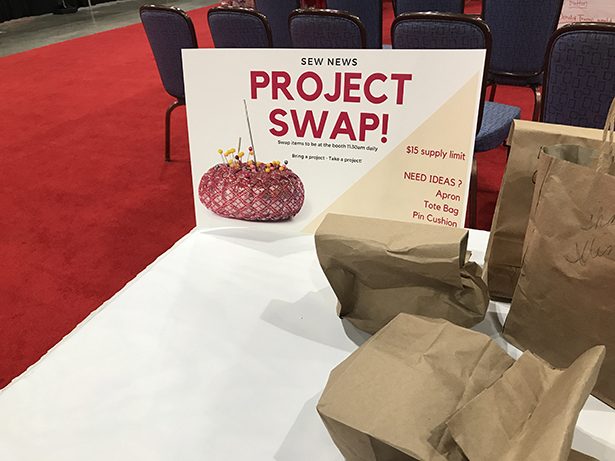 Project swap sign
