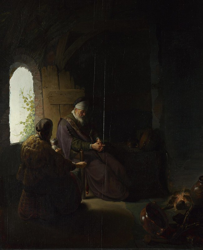 Rembrandt - Anna and the Blind Tobit