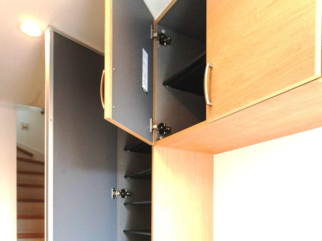 玄関の収納スペース