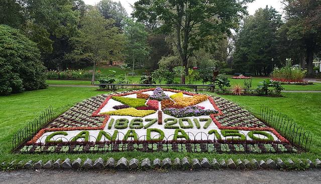 #Canada150 at Halifax Public Gardens