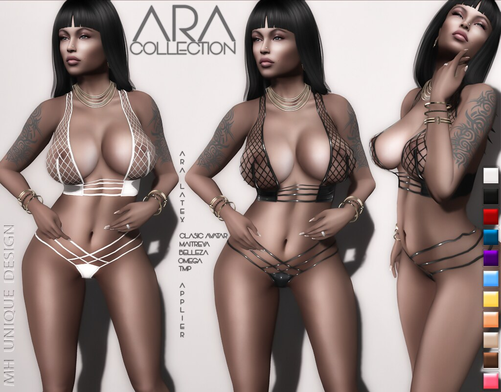 MH-Ara Lingerie Latex  Applier-Collection