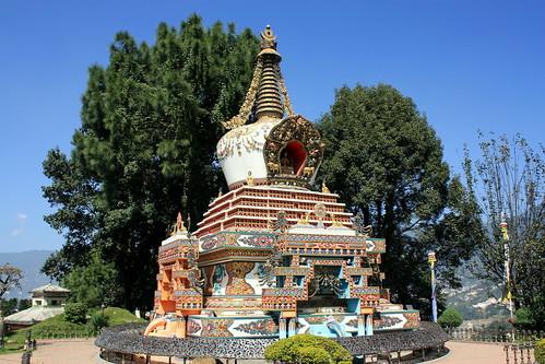 J30 : 20 octobre 2017 : Katmandou - Temple de Gokarna Mahadev - Monastère de Kopan