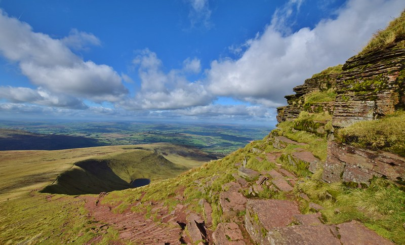 Pen y Fan hike in Brecon Beacons