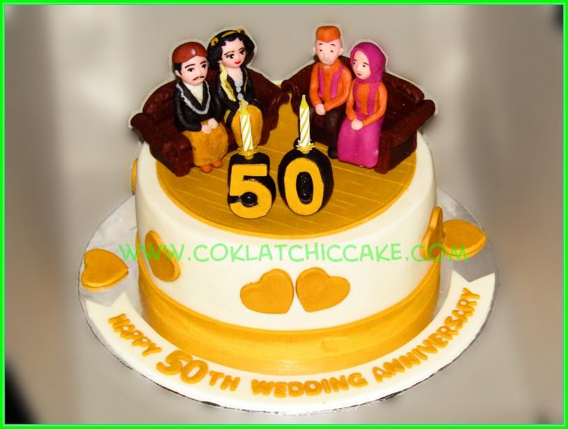Cake 50th anniv
