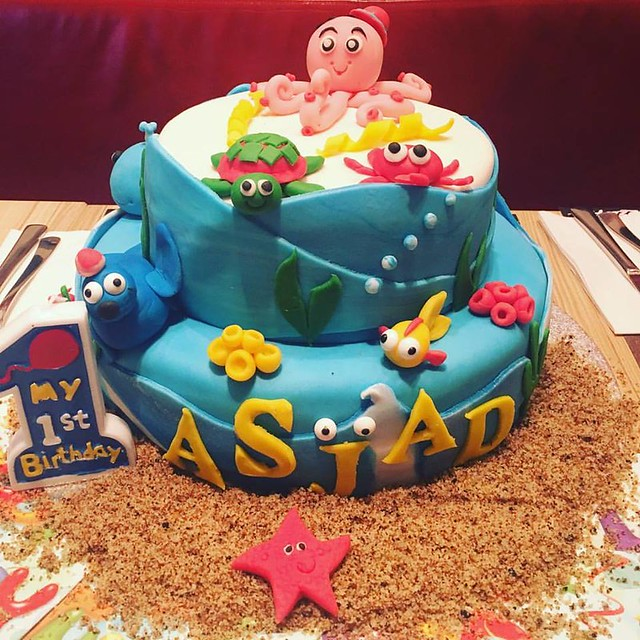 Ocean Themed Cake by Cakeinbox