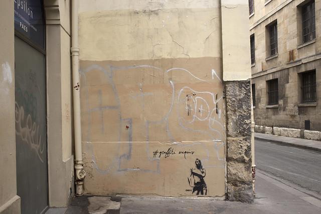 Graffiti exquis