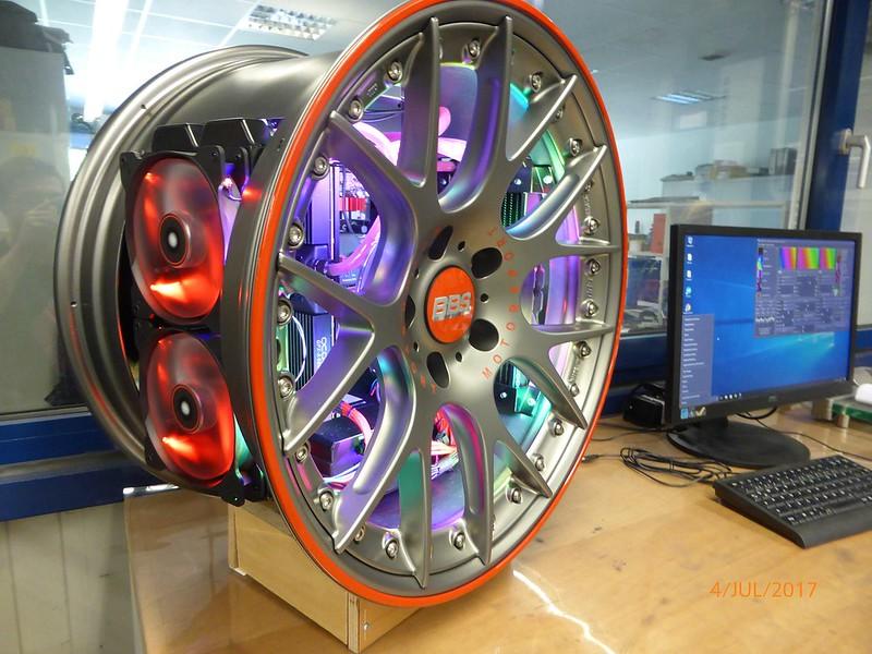 When Petrol Heads Mod a PC Case - BBS PC Case