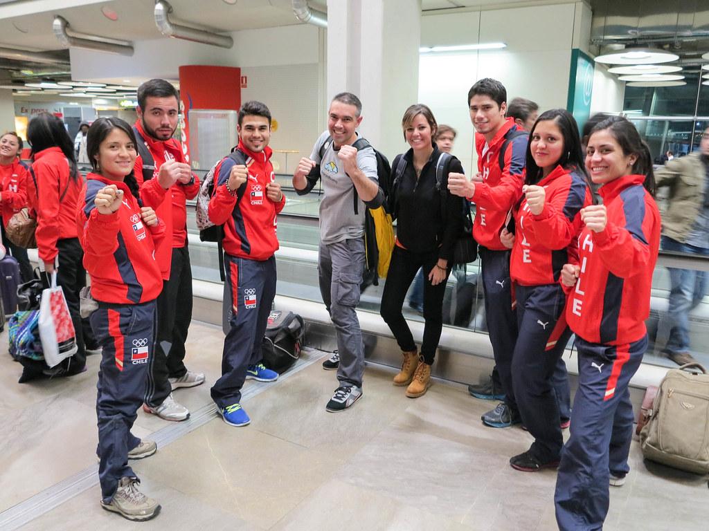 Viaje y visita a Santiago de Chile