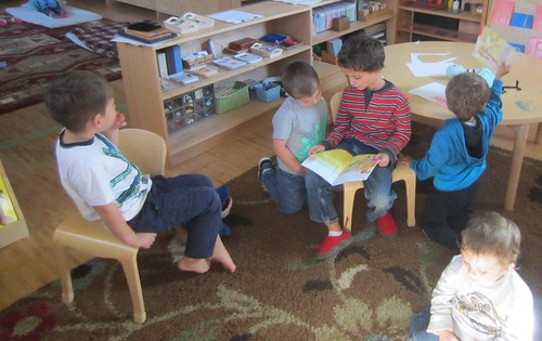 reading to the group