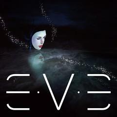 E.V.E Logo Poster - Stars Fireflies 03