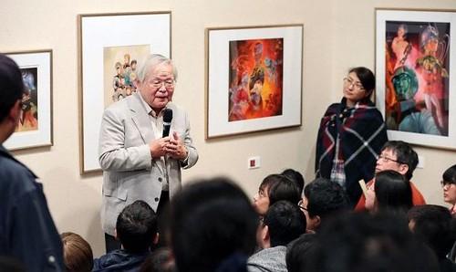Yoshikazu Yasuhiko exhibitionAbashiri
