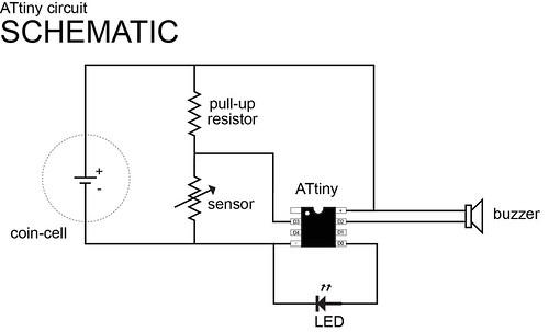 attiny circuit