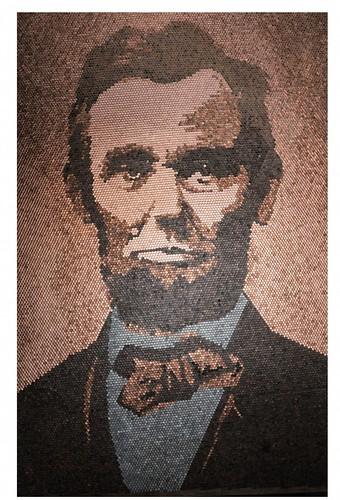 Richard Schlatter Lincon penny portrait large