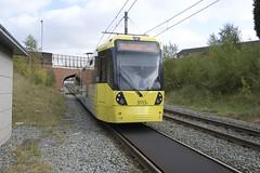 Car 3113 failure. Manchester Metrolink.