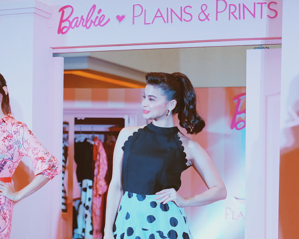 Barbie Loves Plains and Prints Anne Curtis